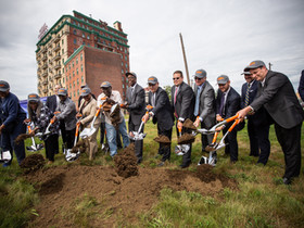 RAL Development Services, Phila. officials and local community celebrate groundbreaking