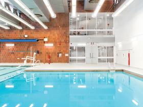 Stalco Construction finish reno. of pool & aquatics center