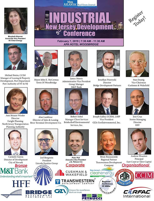 NEWEST UPDATED NJ INDUSTRIAL CONFERENCE