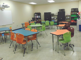 Renovations at Las Américas ASPIRA  Academy completed by Emory Hill & Co.