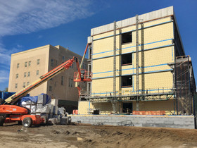 The NYC School Construction Authority, Urbahn Architects and MPCC top off $52.4 Million addition