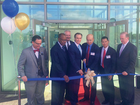 Liberty Property Trust joins WuXi AppTec for a ribbon cutting ceremony at the Navy Yard