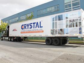 Crystal Windows speeds deliveries with dedicated trailer fleet
