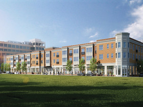 Exterior restoration, retail component nearing completion at Prism's Edison Village in NJ