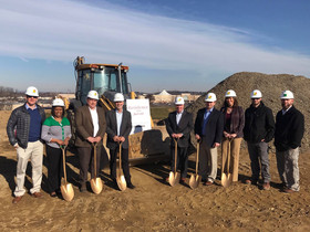High Hotels Ltd. breaks ground on Residence Inn by Marriott hotel, part of the mixed-use Crossings