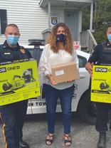 BRAVO! Group Services donates disinfecting equipment