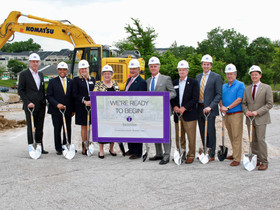 Greenberg Gibbons kicks off construction of $350 million Towson Row Project