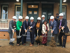 NJHMFA & The Michaels Organization break ground