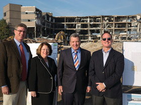 Sudler Companies demolishes office building to make way for 757,000 s/f of warehouse space
