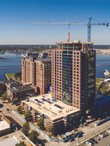 Volder of Harbor's Edge attend Topping Out
