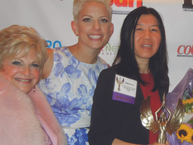 Crystal Windows' sales manager receives Top Women In Business Award