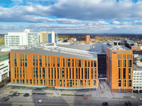 LiRo, Gilbane, HOK, & LPCiminelli complete 628,000 s/f healthcare, education, and research struc