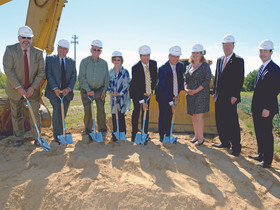 The S.Hekemian Group breaks ground for 225,000 s/f The Shoppes at DePiero Farm