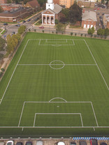 DMR Architects celebrate conversion of middle school field into multi-purpose turf