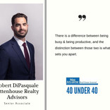40 Under 40 Robert DiPasquale, Rittenhouse Realty Advisors