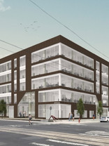 Thom, senior associate with SCOPE procures buyer for 2101-15 North American St. in Phila.