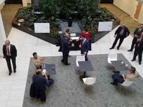 Denholtz Associates hosts top brokers at luncheon