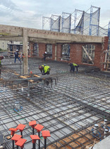 Construction progressing rapidly at Prism's Wonder Lofts in Hoboken