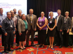 Shaw, AIA, RID, LEED AP presents at construction conf.