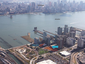 Sale of two residential development sites on the Hudson River waterfront closed by HFF