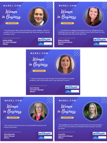 Congratulations to MAREJ's 2021 Women in Business