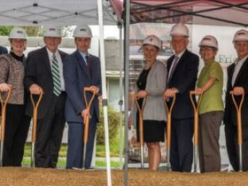 Warfel breaks ground on Friends House Expansion