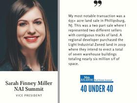 40 Under 40 Honoree Sarah Finney Miller