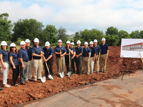 Maillie LLP breaks ground for new office location in Limerick Township