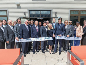 The Hampshire Cos. and Claremont Cos. celebrates milestone in ribbon Cutting for RIVET