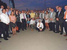 Alfred Sanzari hosts broker appreciation event