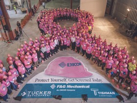 Emcor holds 7th annual campaign for breast cancer awareness