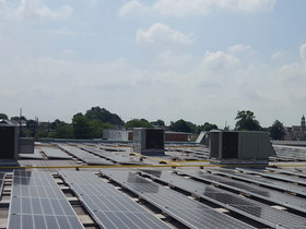 Vanguard Energy Partners complete rooftop solar project at Capitol Plaza