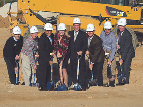 Greenberg Gibbons and Vanguard announce that construction begins for the new Wegmans at Foundry Row