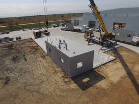 Lonestar builds headquarters and Plant, featuring Easi-Set Buildings on a Greenfield site