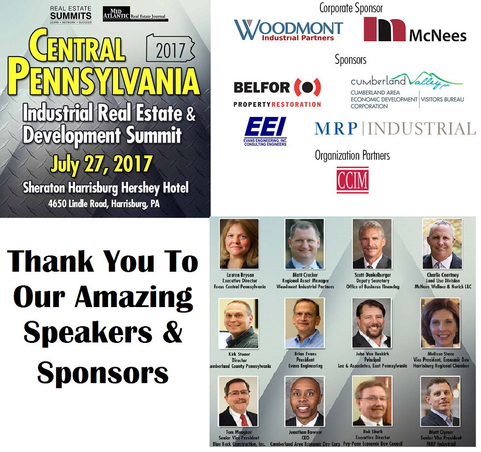 Thank you to our Speakers and Sponsors
