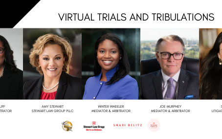 """Shari Belitz is a Featured Panelist in """"Virtual Trials and Tribulations"""""""