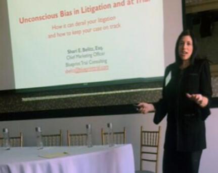 Shari Belitz on Unconscious Bias in Litigation and Trial Presentation to PLAN (September 19, 2019)