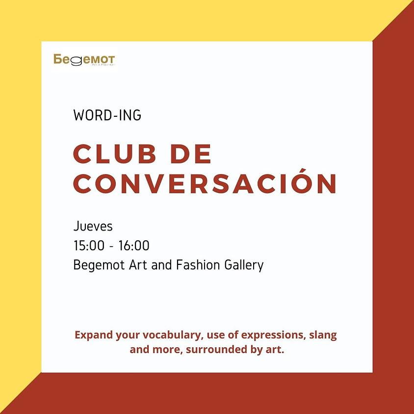 Club de conversación with Oscar Mejía