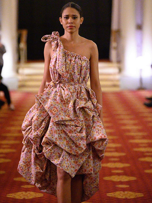 Miro Misljen - Flower Ballon Dress