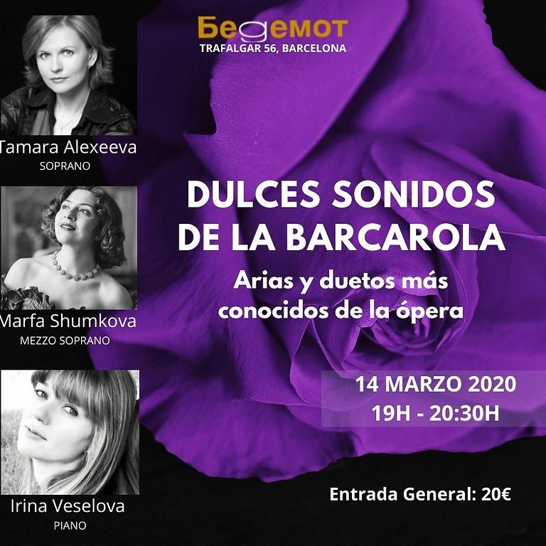 Dulces Sonidos de la Barcarola - Arias y duetos más conocidos de la ópera