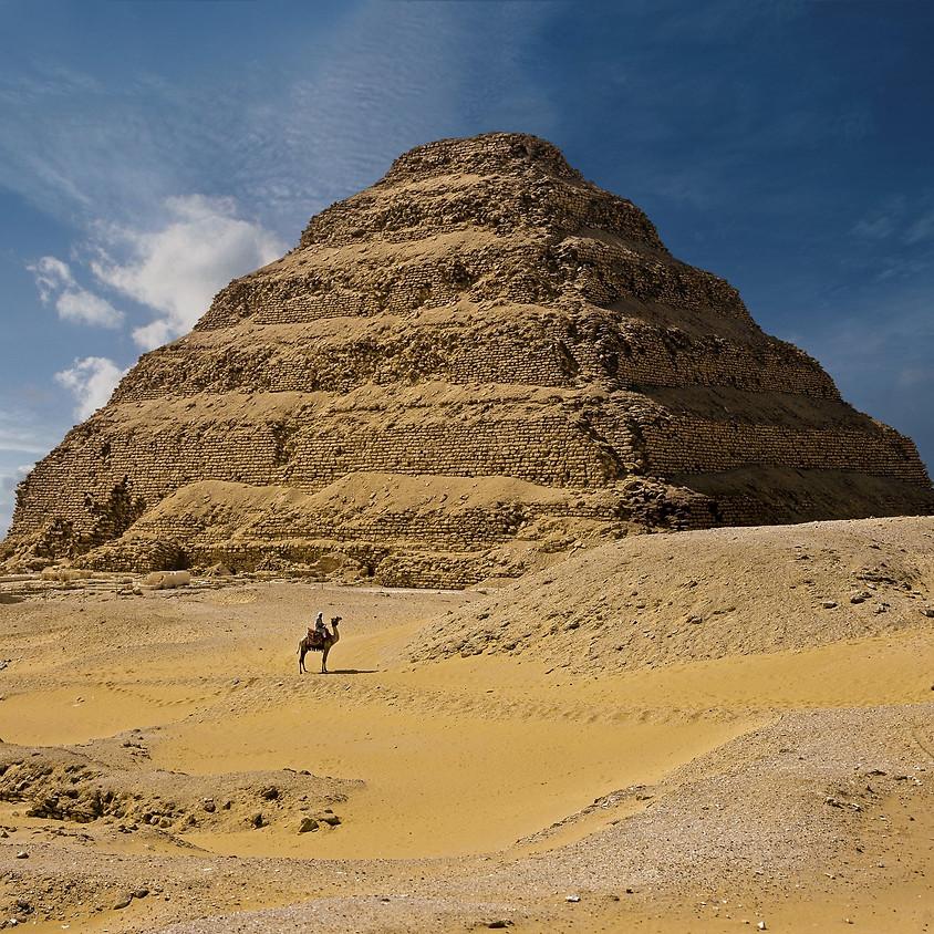 VIAJE DESCUBRIENDO EL ANTIGUO EGIPTO - REY DJOSER- Reino Antiguo
