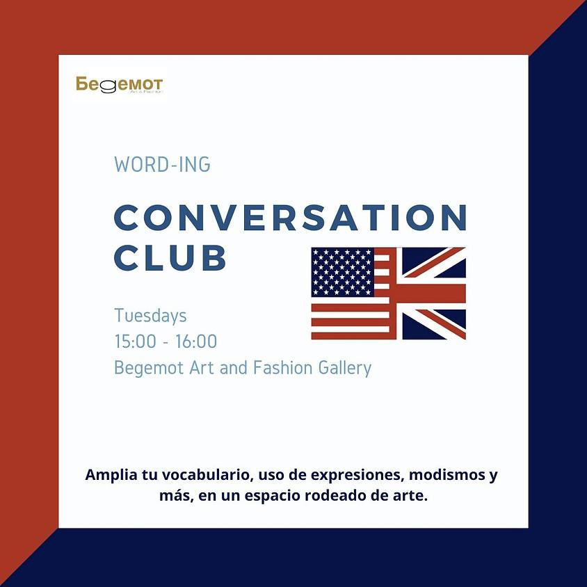 Conversation Club with Oscar Mejia