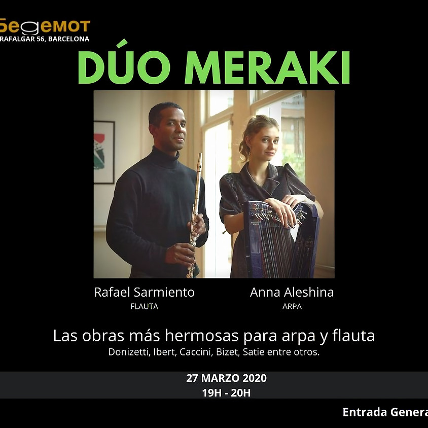 Dúo Meraki - Arpa y Flauta