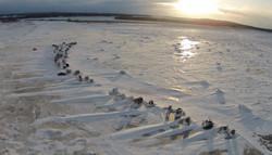 Site de pêche (vue aérienne)