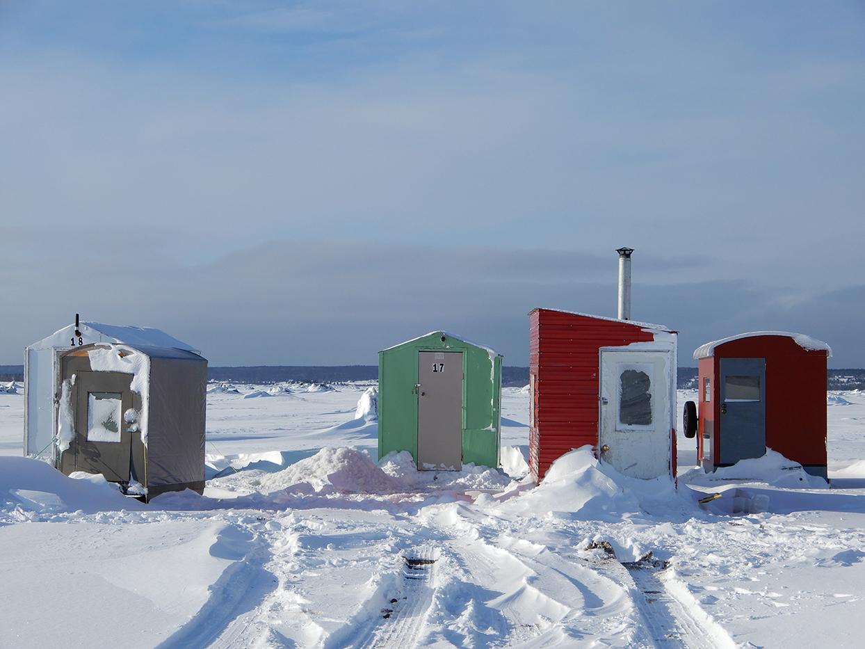 Quelques cabanes