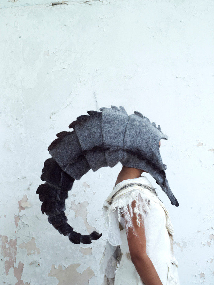 Headdress 2 by Gladys Paulus