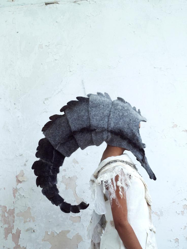 Headdress 2 by Gladys Paulus