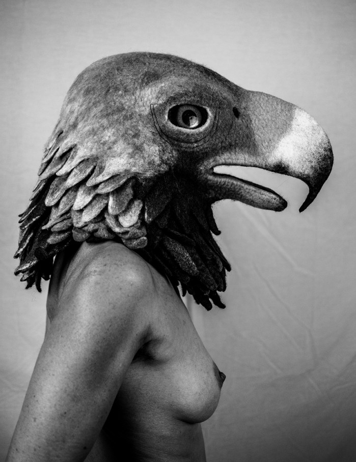 Eagle mask by Gladys Paulus