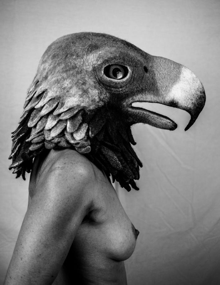 Eagle mask by Gladys Paulus