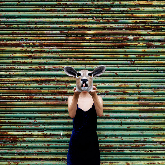 Doe mask by Gladys Paulus